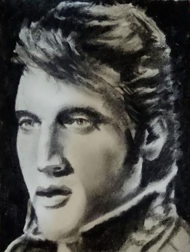 Elvis Presley by mick